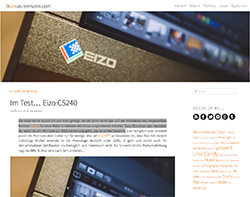 02/2015 | Thomas Reimann - EIZO CS240 im Test