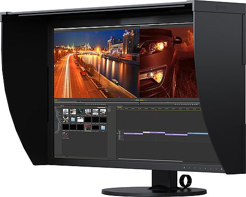 Video Editing Monitore für Mediengestalter und Cutter